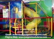 Laberintos y juego modulares al mejor precio, somos fabricantes, tenemos juegos para áreas infantil