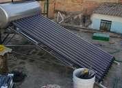 Oferta en calentador solar para 3 personas