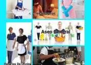 Agencia de cocineras-recamareras-niñeras