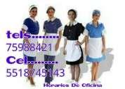 Personal doméstico naucalpan 5518745143