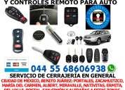 ProgramaciÓn de llaves y controles para auto. 044 55 68606938