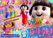 Show de payasos con botargas en ecatepec