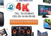 Centro de servicios y reparacion de pantallas 4k
