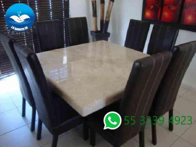 Hermosos comedores de marmol coyoac n doplim 423821 for Mesas de marmol y granito