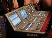 Digitales mixers y equipos de audio behringer yamaha soundcraft y otros