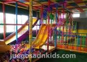 Venta y fabricacion de juegos infantiles para salones de fiestas