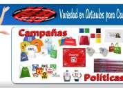 Promocionales economicos para campañas politicas