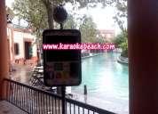 Rockolas karaoke tipo iphone ipod luces puerta de hierro cumbres colinas mitras contry salas