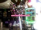 Karaoke beach san pedro rockolas tipo ipod iphone luces led para tu fiesta o reunión rokolas