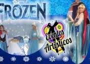 show de frozen, show de frozen en puebla, show de princesas ana, elsa y olaf