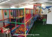 Fabricante de juegos infantiles para salones de fiestas.