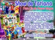 Show de tatiana para dia de reyes - df/edomx