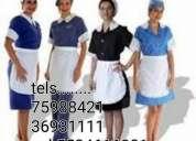 Servicios domesticos sirvientas 75988421