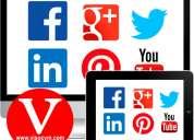 Administracion mensual de redes sociales