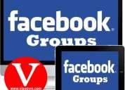 Publicidad masiva en grupos de facebook