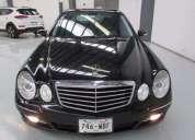 Mercedes benz clase e 2009 75000 kms