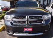 Dodge durango crew lux 2013 80000 kms