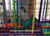 Juegos infantiles playground modulares tubulares laberintos.