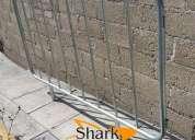 Venta y fabricación de valla de seguridad tipo popote ciudad de méxico