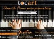 clases de piano zona: santa fe, bosques de las lomas interlomas