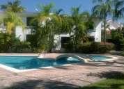 Vendo 6 casas fracc. el cid, mazatlán. area común, alberca, palapa.