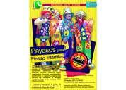 Payasos para fiestas infantiles - precios accesibles