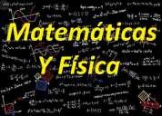 Matemáticas y física, clases particulares
