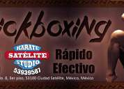Kickboxing en satélite naucalpan karate studio satélite