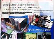 Impresión de 200 ejemplares de libro por $6,280 pesos