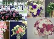 Centros de mesa para bodas/eventos en guadalajara/ramos de novia/decoración floral/florista