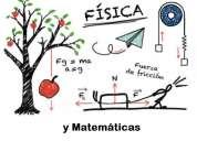 Matemáticas y física, clases particulares, preparación de extraordinarios y a examénes de ingres