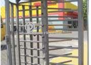 Puertas giratorias         de 3 brazos
