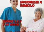 Cuidadores cuidadoras y enfermeras a domicilio y en hospitales