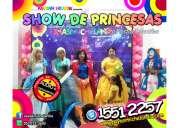 Payasos con princesas disney para tu fiesta