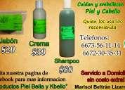 Productos piel bella regenera el cabello y remueve el acne