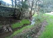 Excelentes terrenos en la cascada-lerma-entrada salazar