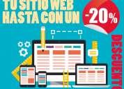 Diseño de páginas web y sitios web para todo méxico de la mejor calidad