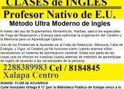 Clases de ingles por maestro nativo en xalapa centro