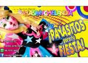 Payasita para fiestas infantiles en chimalhuacan