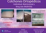 colchones ortopedicos nuevos