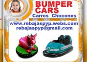 Fabrica, carros electricos niños, carros chocones, bumper car, animal rides, electric cars
