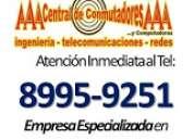 Instalacion de conmutador telefonico