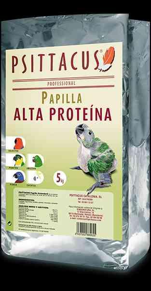 PAPILLA ALTA PROTEINA  PARA AVES