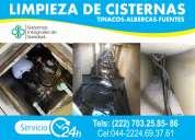 Limpieza a cisternas