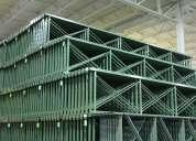 Venta de racks industriales usados en muy buenas condiciones !!