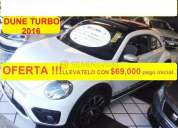Volkswagen beetle turbo 2016 5134 kms