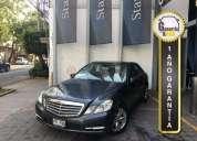 Mercedes benz clase e sedan 2012 en benito juárez