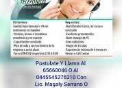 Vendedor telefÓnico medio tiempo ($2000 semanales o mas)