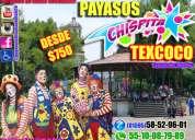 Payasos para tu fiesta infantil o familiar en texcoco