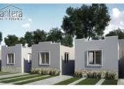 Casas en preventa de 2 habitaciones, apartadas con mil pesos